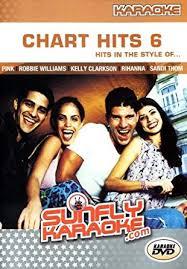 Karaoke Chart Hits 6 Dvd Amazon Co Uk Various Dvd Blu Ray