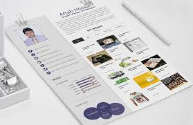 Interactive Resume Templates Free Download