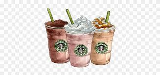 Coffee Latte Milkshake Starbucks Clip Art Starbucks Drawing Free