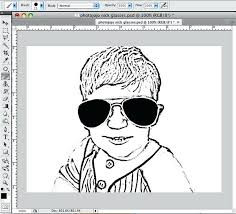 Small Picture Turn A Picture Into A Coloring Page Corresponsablesco
