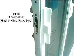 patio door locks handle doors kit vinyl sliding pella lock foot mounting scre