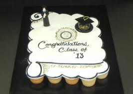 Cupcake Cake For Graduation Yelp