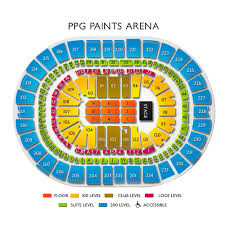 Pittsburgh Ppg Arena Seating Chart Ppg Paints Arena Concert Tickets And Seating View Vivid Seats
