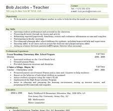 elementary teacher resume sample elementary teacher resume example teacher resume samples free
