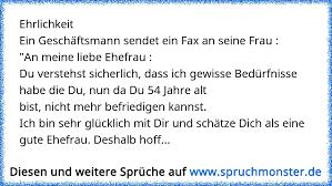 Ehrlichkeitein Geschäftsmann Sendet Ein Fax An Seine Frau An Meine