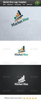 Market Rise #GraphicRiver Logo Description: The logo is Easy to edit to  your own
