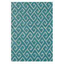 home decor plate x: greek blue  ft x  ft indoor area rug