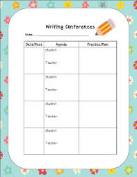 student conference form 28 images of writing conference template for teacher linkcabin com