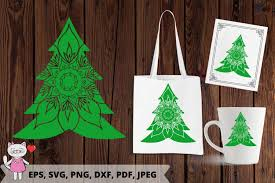 Find & download free graphic resources for christmas tree. Christmas Tree Svg Christmas Monogram Graphic By Magic World Of Design Creative Fabrica