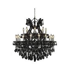19 light 30 black maria theresa crystal chandelier foyer dining living room 1 of 2only 4 available see more