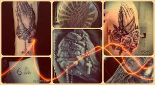 значение тату руки молящегося смысл история фото эскизы