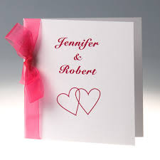 discount simple hot pink red ribbon folded wedding invitations Simple Folded Wedding Invitations Simple Folded Wedding Invitations #11 simple pocket wedding invitations
