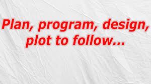 Plan Program Design Plot To Follow Plan Program Design Plot To Follow Codycross Answer