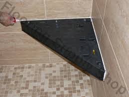 goof proof shower seat ready to tile