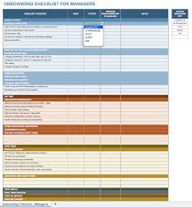 new hire training plan template. Free Onboarding Checklists and Templates Smartsheet
