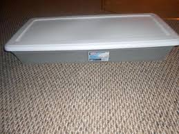 Sterilite Under Bed Storage Awesome Sterilite Under Bed Storage Mesmerizing 32 Qt Storage Bins Sterilite