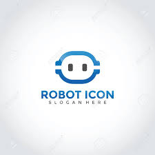 Robot Logo Design Robot Logo Design Vector Illustrator Eps 10