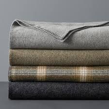 washable wool blanket. Plain Blanket Washable Wool Blanket For WilliamsSonoma