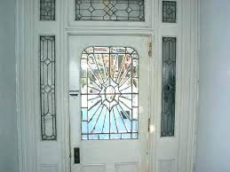 replacement front doors with glass panels magnificent stained entry