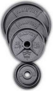 Hampton Olympic Plate Set | Fitness Superstore