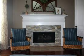 stacked stone fireplaces marble fireplace white mantle ideas surround