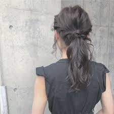 真夏の邪魔なロングヘアはアレンジでスッキリ可愛くまとめ髪hair