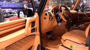 mercedes 6x6 brabus interior. Plain Interior 2015 MercedesBenz G63 AMG  Brabus 800 Interior Walkaround Geneva  Motor Show YouTube Intended Mercedes 6x6 B