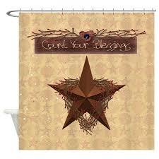 magnificent primitive star shower curtain primitive star shower curtain hooks