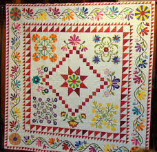 1292 best Quilts...Applique images on Pinterest | Bouquets ... & An Allentown, PA guild's raffle quilt! Love this -- I wish I knew Adamdwight.com