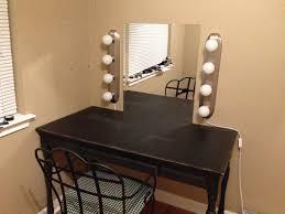 diy vanity mirror with light