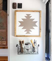 simple navajo designs. See How Easy It Is To Make This Navajo-inspired Wall Art, The Perfect Simple Navajo Designs