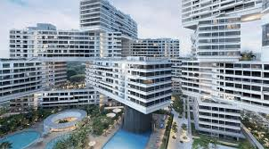 deconstructive architecture. Plain Deconstructive The Blocks Of Interlace Are Stacked Four High At The Center To Provide  Maximum 24 Floors Providing Almost Every Home With A Wide View  For Deconstructive Architecture E