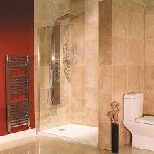 1000mm frameless 8mm thick glass walk in wet room shower enclosure screen panel
