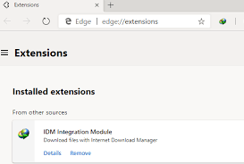 A browser extension the download speeds could get 10 times faster compared to regular web browsers. How To Install Idm Extension In Chromium Based Microsoft Edge Canary Dev Programmer Sought