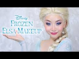 アナ雪 エルサ風メイク disney s frozen elsa makeup tutorial