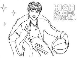 Small Picture High School Musical Coloring Image Gallery HCPR