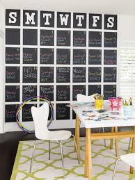Accessories: DIY Giant Chalkboard Calendar - Wall Calendar