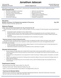 Resume Format Guide Resume Formats Jobscan Chronological Sample