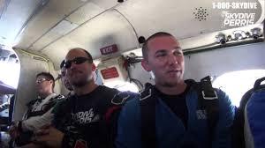 Dustin Housley's Tandem skydive! - YouTube