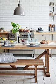 modern country furniture. This Timeless, Practical, Tactile, Wooden Bench And Table Combo Is The Perfect Way To Add Some Country House Chic Your Kitchen. Modern Furniture