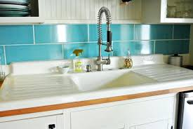 cast iron sink with drainboard drop in white cast iron kitchen sink with single bowl and