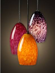 decoration blown glass pendant lights warm lighting the home depot for 16 from blown glass