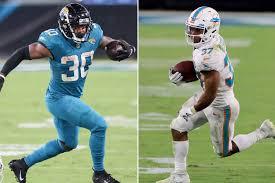 Jaguars-Dolphins fantasy recap: James Robinson, Myles Gaskin