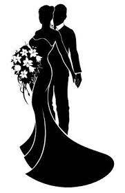 Wir machen es ihnen einfach und stellen ihnen in dieser anleitung kostenlose vorlagen zum ausdrucken zur verfügung. Brautpaar Braut Und Brautigam In Der Silhouette Mit Der Braut In Einem Brautkleid Kleid Mit Einem Blumen Blumenstrauss Hochzeit Zeichnung Brautpaar Hochzeit Silhouette