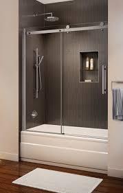 wonderful sliding shower doors over tub with best 25 gl door amazing bath shower doors glass