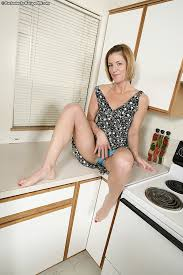 Horny housewife teasing for her