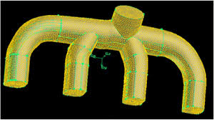 Optimized design of engine intake manifold based on 3D scanner of ...