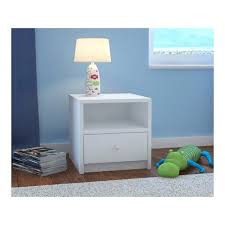 kids bed side view. Sidetables: Childrens White Bedside Table Kids Children Junior New Small: Bed Side View
