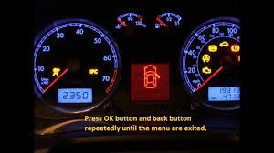 Reset Engine Light Dodge Caravan Dodge Caravan How To Reset Service Light Indicator Youtube