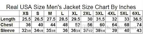 Zipper Size Chart Real Usa Size Cool Luxury Colorful Designer 3d Sublimation Print Custom Made Zipper Up Jacket Plus Size Leather Jacket Men White Jacket From